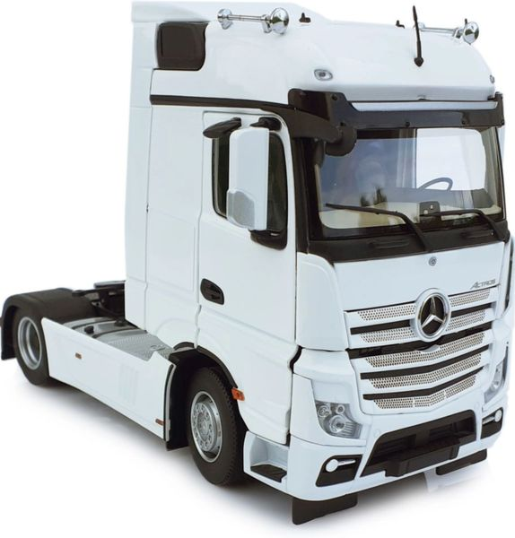 MARGE MODELS 1909-01 1:32 SCALE MERCEDES-BENZ ACTROS BIGSPACE 4x2 WHITE