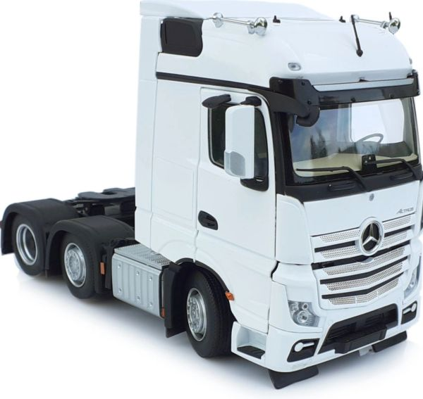 MARGE MODELS 1910-01 1:32 SCALE MERCEDES-BENZ ACTROS BIGSPACE 6x2 WHITE