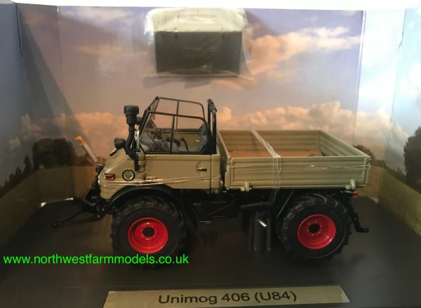 WEISE TOYS 1:32 SCALE MERCEDES UNIMOG 406 (U84) REMOVABLE HARDTOP