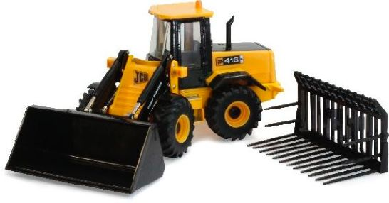 42511 1/32 Britains Farm JCB 416s FarmMaster Loading Shovel