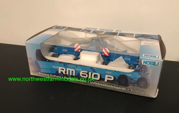 REPLICAGRI 1:32 SCALE NOBILI FIELD SHREDDER/TOPPER RMP 610 LIMITED EDITION