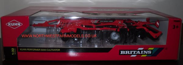 43108A1 Britains Farm 1/32 Kuhn Performer 5000 Cultivator
