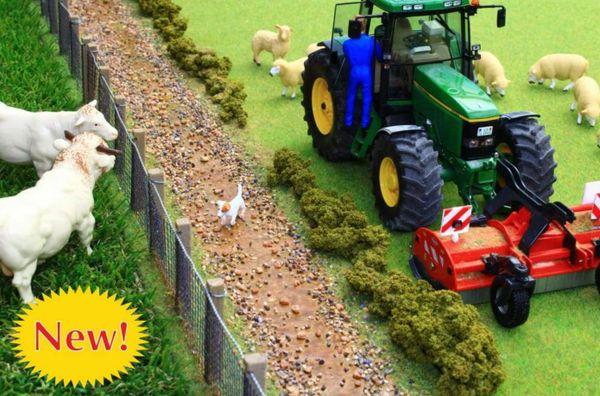 BRUSHWOOD TOYS 1:32 SCALE MUDDY FIELD DITCH FARM DIORAMA *NEW* BT3066