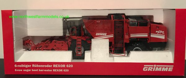 ROS 1:32 SCALE GRIMME REXOR 620 6 ROW BEET HARVESTER