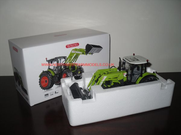 WIKING 1/32 CLAAS ARION 650 WITH LOADER MODEL TRACTOR
