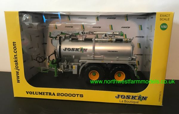 UNIVERSAL HOBBIES 5337 1:32 SCALE JOSKIN VOLUMENTRA 20000TS SLURRY TANKER