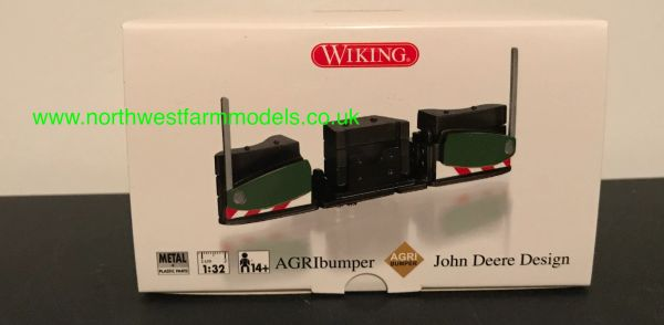 WIKING 1:32 SCALE AGRIbumper JOHN DEERE COLOUR