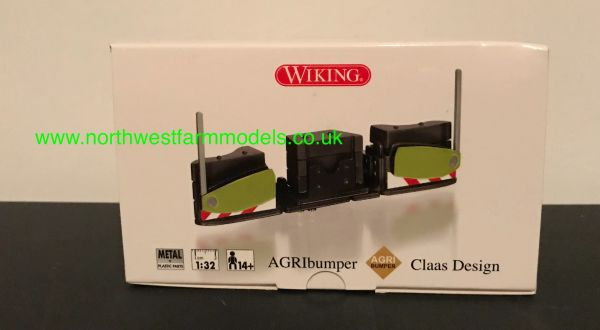 WIKING 1:32 SCALE AGRIbumper CLAAS COLOUR