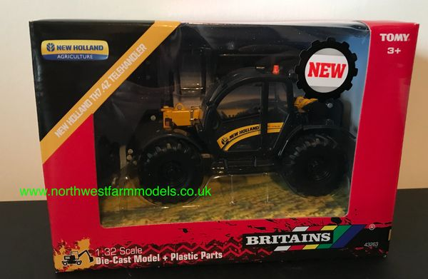 BRITAINS 43263 1:32 SCALE NEW HOLLAND TH7.42 TELEHANDLER