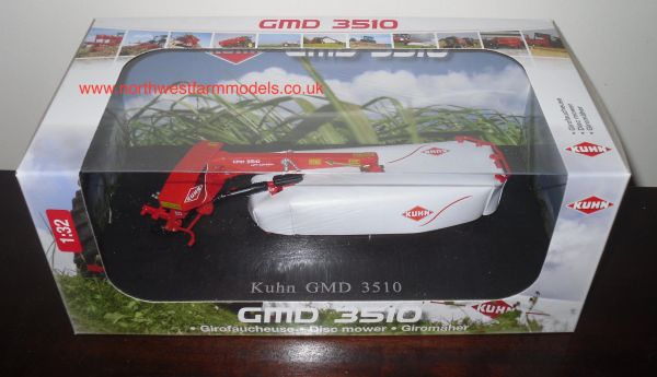 UH4040 UNIVERSAL HOBBBIES 1/32 SCALE KUHN GMD 3510 REAR MOUNTED MOWER