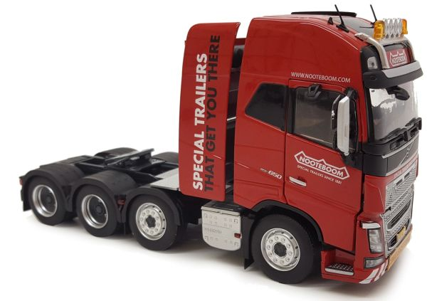MARGE MODELS 1:32 SCALE VOLVO FH16 8X4 RED NOOTEBOOM EDITION