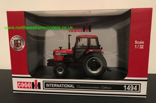 UNIVERSAL HOBBIES 6261 1:32 SCALE CASE IH 1494 2WD COMMEMORATIVE 1988 EDITION