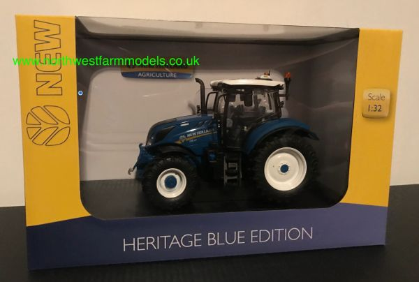 """UNIVERSAL HOBBIES 6234 1:32 SCALE NEW HOLLAND T6.180 """"HERITAGE BLUE"""" EDITION"""