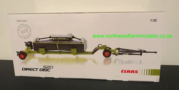 WIKING 1:32 SCALE CLAAS DIRECT DISC 520 WITH TRAILER LIMITED EDITION
