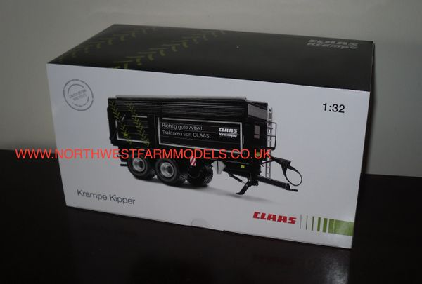 WIKING KRAMPE BIG BODY BLACK CLAAS LIMITED EDITION