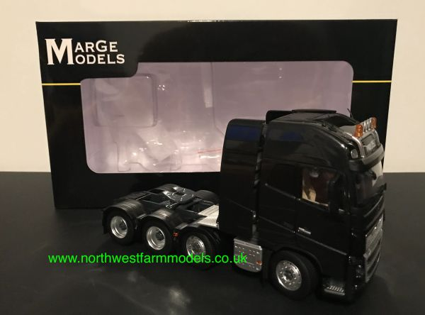 MARGE MODELS 1:32 SCALE VOLVO FH16 8X4 BLACK
