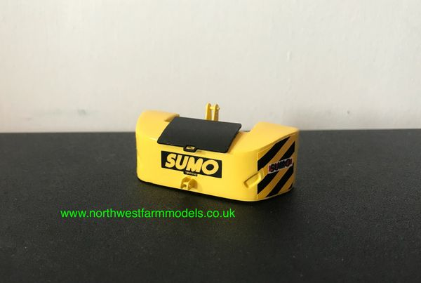 1:32 SCALE FRONT SUMO WEIGHT ATTACHMENT (YELLOW)