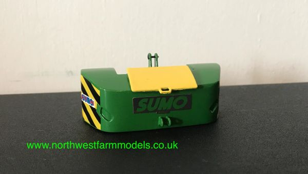 1:32 SCALE SUMO FRONT WEIGHT (GREEN/YELLOW LID)