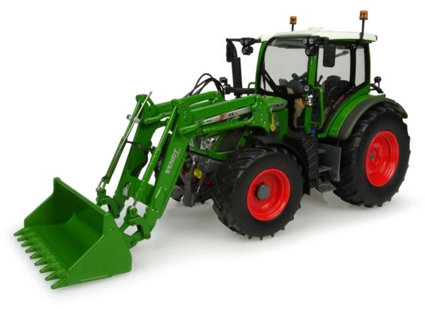 UNIVERSAL HOBBIES 4981 1:32 SCALE FENDT 516 WITH FRONT LOADER (NATURE GREEN)