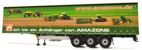 MARGE MODELS 1:32 SCALE PACTON CURTAINSIDE TRAILER - AMAZONE
