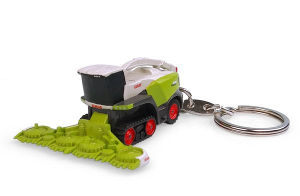 UNIVERSAL HOBBIES 5855 1:32 SCALE CLAAS JAGUAR 960TT KEYRING