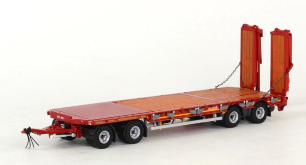 AT COLLECTIONS 1:32 SCALE NOOTEBOOM ASDV 40 22 4 AXLE BED TRAILER