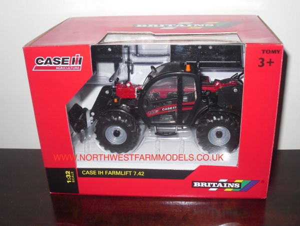 43086A1 Britains Farm Case IH FarmLift 7.42