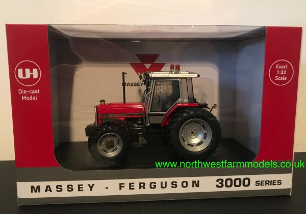 UNIVERSAL HOBBIES 1:32 SCALE 6237 MASSEY FERGUSON 3120 LIMITED EDITION 1000 PIECES