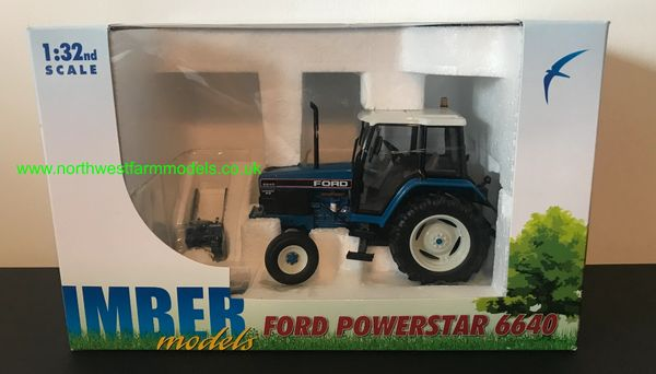 IMBER TOYS 1:32 SCALE FORD 6640 SLE 2WD