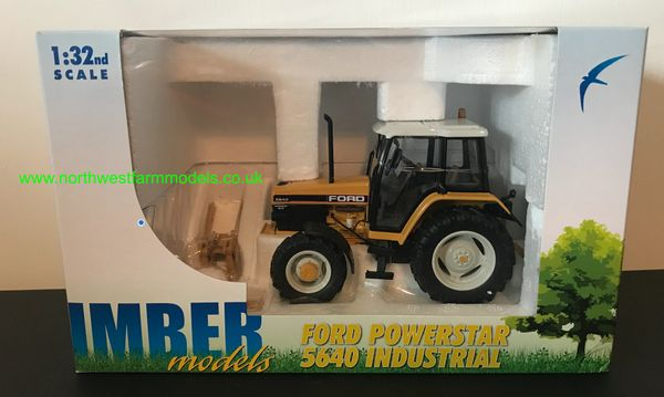 IMBER TOYS 1:32 SCALE FORD 5640 SLE 4WD INDUSTRIAL