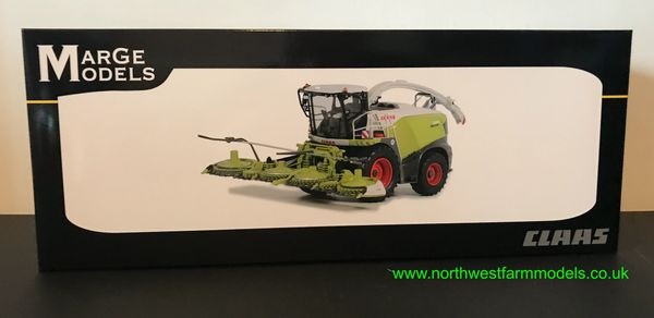 MARGE MODELS 1:32 SCALE CLAAS JAGUAR 990 WITH ORBIS 750 HEADER FORAGE HARVESTER