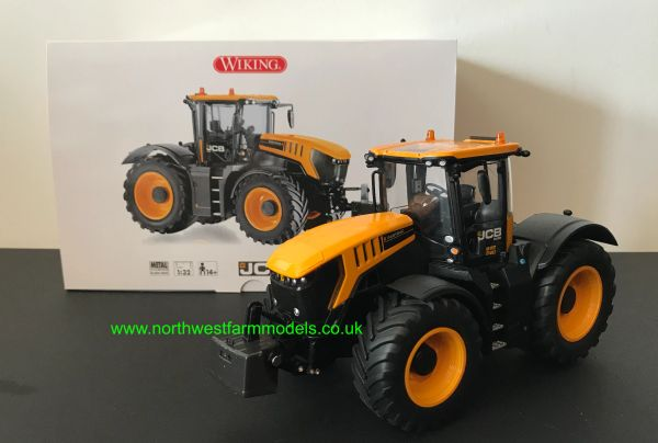 WIKING 1:32 SCALE JCB 8330 TRACTOR WITH FRONT WEIGHT