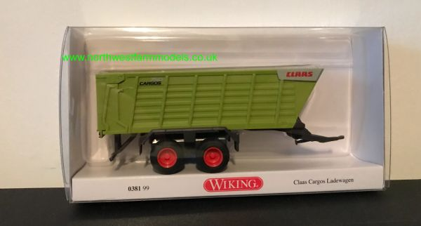 WIKING 1:87 SCALE 038199 CLAAS CARGOS FORAGE WAGON