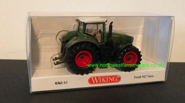 WIKING 1:87 SCALE FENDT 942 VARIO
