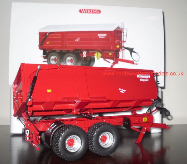 WIKING 1/32 KRAMPE TIPPER Big Body 650S (Side Tip Transport Trailer)