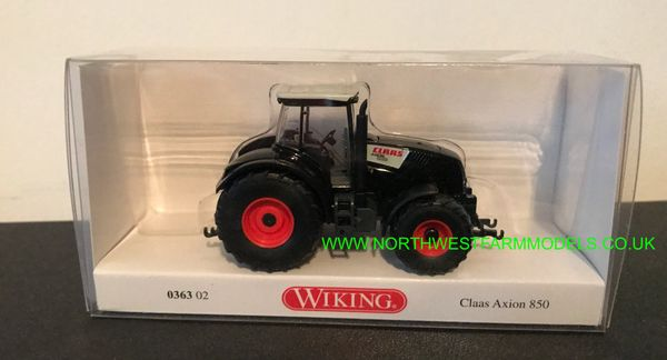 WIKING 1:87 SCALE CLAAS AXION 850 BLACK
