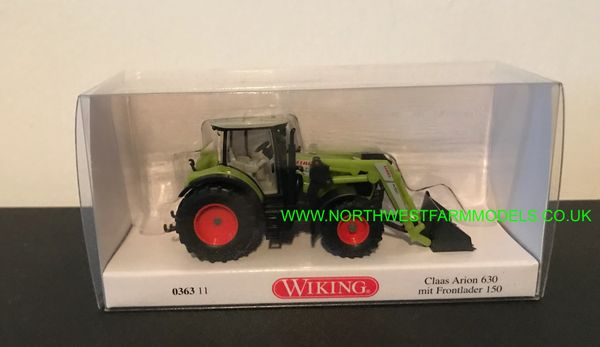 WIKING 1:87 SCALE CLAAS ARION 630 WITH LOADER