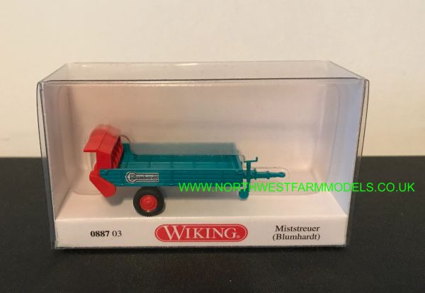 WIKING 1:87 SCALE REAR DISCHARGE SPREADER