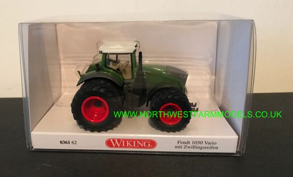 WIKING 1:87 SCALE FENDT 1050 VARIO WITH DUALS