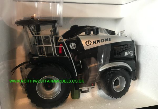 ROS 1:32 SCALE KRONE BIG X 1180 FORAGE HARVESTER SPECIAL LIMITED EDITION BLACK AND SILVER