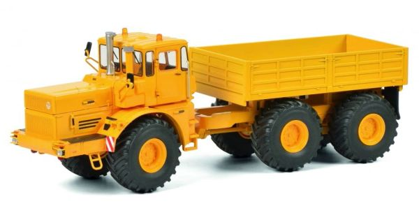 SCHUCO 1:32 SCALE KIROVETS K-700 T 6X2 WITH TRAILER