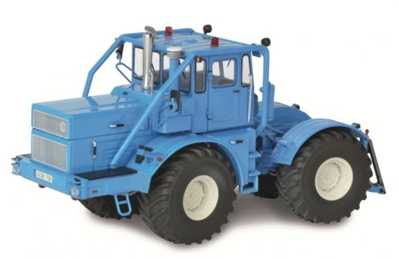SCHUCO 1:32 SCALE KIROVETS K-700 A TRACTOR (BLUE)
