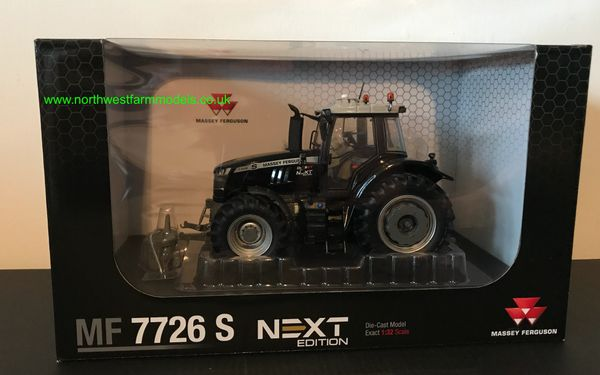 "UNIVERSAL HOBBIES 6259 1:32 SCALE MASSEY FERGUSON 7726S ""NEXT EDITION"" BLACK"