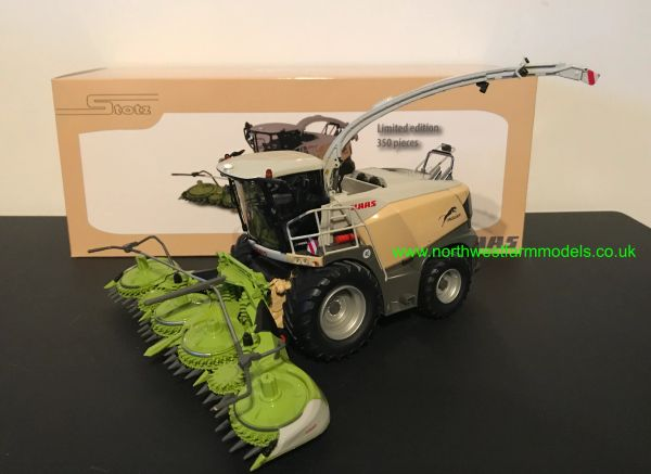 """MARGE MODELS 1:32 SCALE CLAAS JAGUAR 900 SERIES """"STOTZ"""" LIMITED EDITION"""