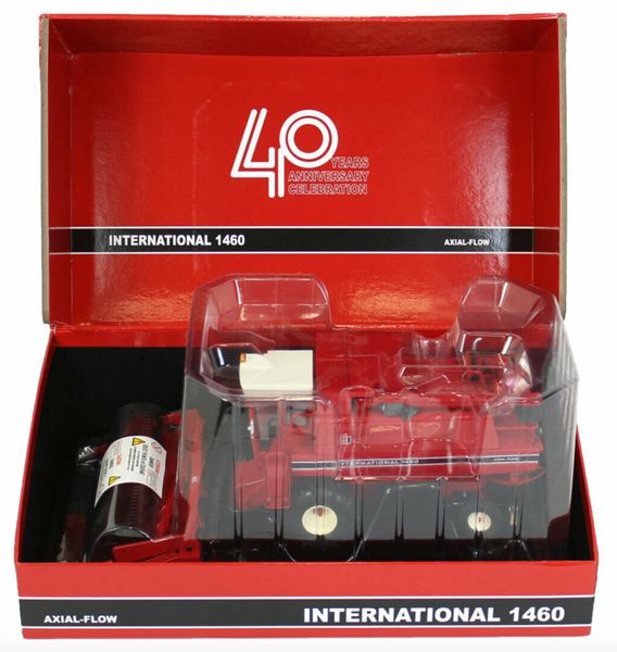 REPLICAGRI 1:32 SCALE INTERNATIONAL 1460 AXIAL FLOW 40 YEARS ANNIVERSARY EDITION