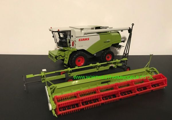 WIKING 1:32 SCALE 077817 CLAAS TUCANO 570 WITH V930 HEADER AND TRAILER