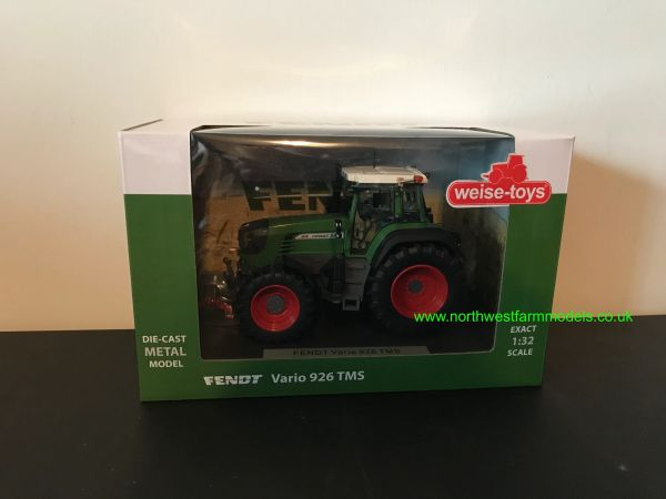 WEISE TOYS 1:32 SCALE FENDT 926 TMS MODEL TRACTOR