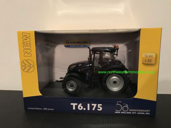 UNIVERSAL HOBBIES 6252 1:32 SCALE NEW HOLLAND T6.175 PROFONDO BLUE LIMITED EDITION