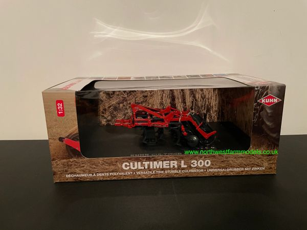 UNIVERSAL HOBBIES 1:32 SCALE 5214 KUHN CULTIMER L300 CULTIVATOR