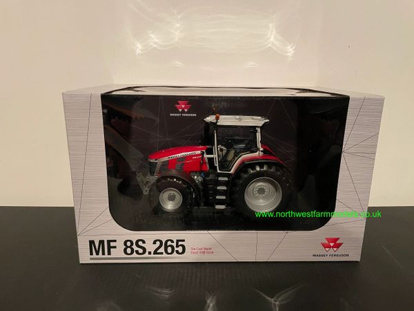 UNIVERSAL HOBBIES 6262 1:32 SCALE MASSEY FERGUSON 8S.265 (DEALER EDITION)